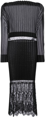 Stella McCartney Carey pleated midi dress