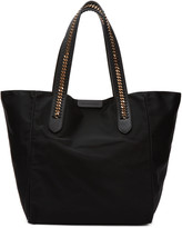 Stella McCartney Black Falabella GO Tote