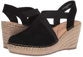 Børn Meade (Black Suede) Women's Wedge Shoes