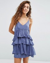 d.RA Kade Tiered Ruffle Dress