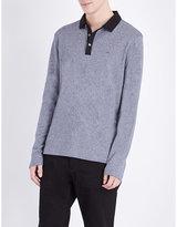 Michael Kors Contrast-detail Cotton-jersey Polo Shirt