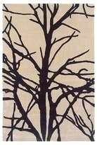 Linon Trio Collection Rug - Winter Tree