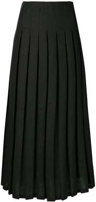Mara Hoffman Cordelia high-pleated skirt