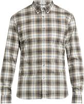 Tomas Maier Checked cotton shirt