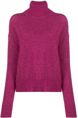 J. Lindeberg turtle-neck ribbed sweater