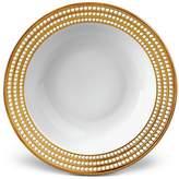"L'OBJET Perlee Gold 14"" Round Serving Bowl"