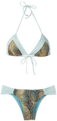 BRIGITTE Bia e Mel printed bikini set