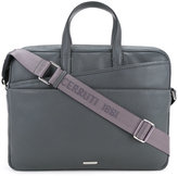 Cerruti 1881 - double front pocket briefcase - men - Calf Leather - One Size