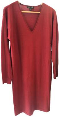 Lauren Ralph Lauren \N Red Wool Dress for Women