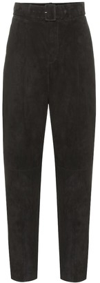 STOULS Murray high-rise suede pants