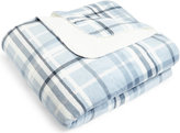 Marks and Spencer Harrison Check Fleece Throw