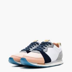 The Hoff Brand - Womenswear Limited Edition Chamonix Sneaker - 36 - White/Grey/Blue