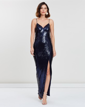 Bariano Hailee Sequin Gown