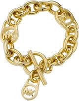 Michael Kors Logo Lock Toggle Bracelet
