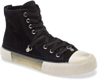 AllSaints Elena High Top Suede Sneaker