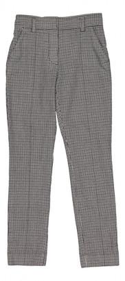 Louis Vuitton Grey Wool Trousers