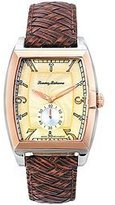 Tommy Bahama Leather Pineapple Dial Men's Watch #TB1220