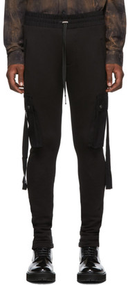 Amiri Black Lounge Cargo Pants