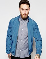 Ymc Jacket With Hood In Blue