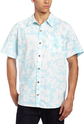 Toes on the Nose Teen-Boys'men's Coaster Short Sleeve Woven Shirt