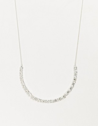 Johnny Loves Rosie multi jewel necklace-Silver