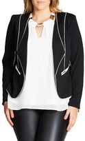 City Chic Plus Size Women's Pipe Dream Jacket