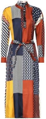 Tory Burch Bianca silk shirt dress