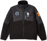 U.S. Polo Assn. Black Fleece Puffer Coat - Boys