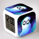 Enjoy Life : Cute Digital Multifunctional Alarm Clock With Glowing Led Lights and stickered Undertale , Good Gift For Your Kids , Comes With Bonuses. Part 1 (01)