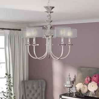 Elia House of Hampton 5-Light Shaded Classic/Traditional Chandelier House of Hampton