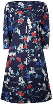 Salvatore Ferragamo floral shift dress - women - Silk/Cotton/Acetate - 40