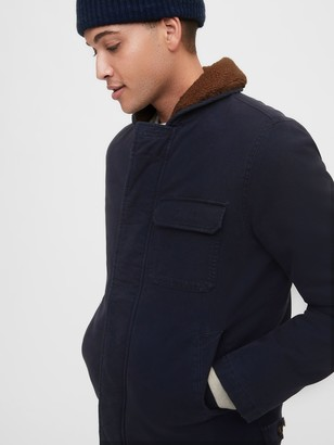 Gap Sherpa Lined Jacket