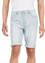 CK Calvin Klein Beyond Blue Tap Denim Shorts