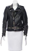 Schott Embellished Leather Jacket w/ Tags