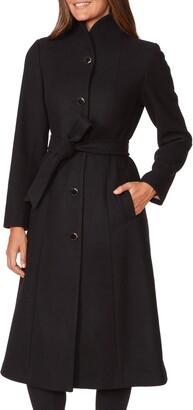 Kate Spade Belted Wool Blend Coat