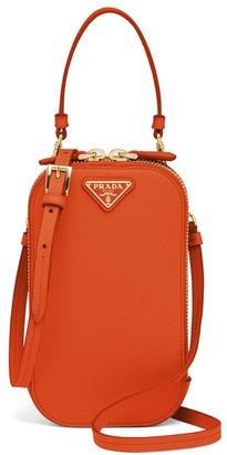 Prada Logo Plaque Mini Bag