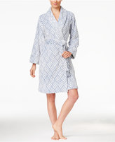 Charter Club Embossed Short Robe, Only at Macy's