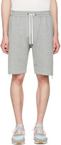 Pyer Moss Grey Evans Zip Shorts
