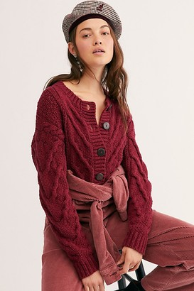 Free People Bonfire Cardi
