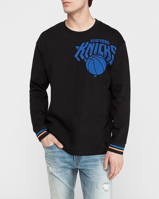 Express New York Knicks Nba Long Sleeve Heavyweight T-Shirt