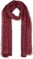 Reiss Fleur - Textured Scarf in Red, Womens