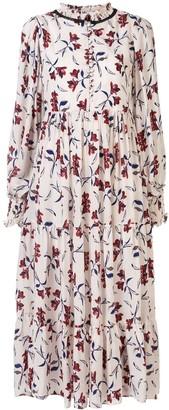 Lug Von Siga Sarah floral print midi dress