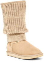 Australia Luxe Collective Fame Tall Genuine Shearling Boot