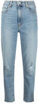 Thumbnail for your product : Rag & Bone Cropped Distressed Jeans