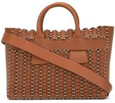 Paco Rabanne woven tote bag