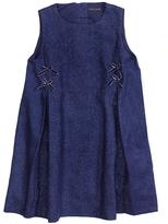 Tommy Hilfiger Linen-Cotton Sleeveless Dress