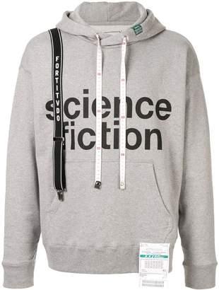 Puma Maison Yasuhiro Science Fiction print hoodie