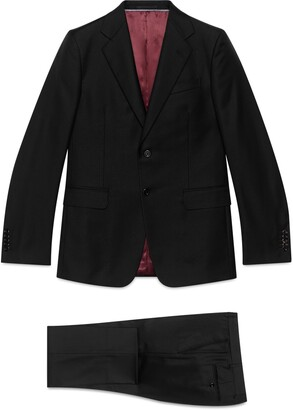 Gucci Straight fit wool suit