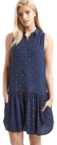 Gap Print drop waist dress