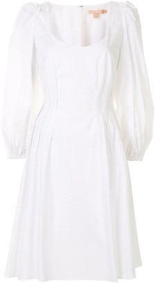 Brock Collection Rina cotton poplin dress